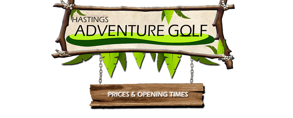 Hasting Adventure Golf Banner